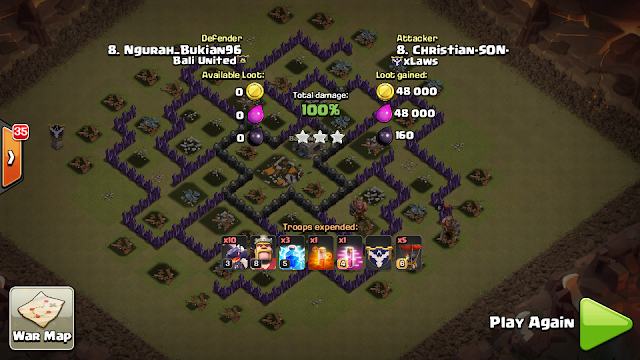 strategi serangan naga coc th 8