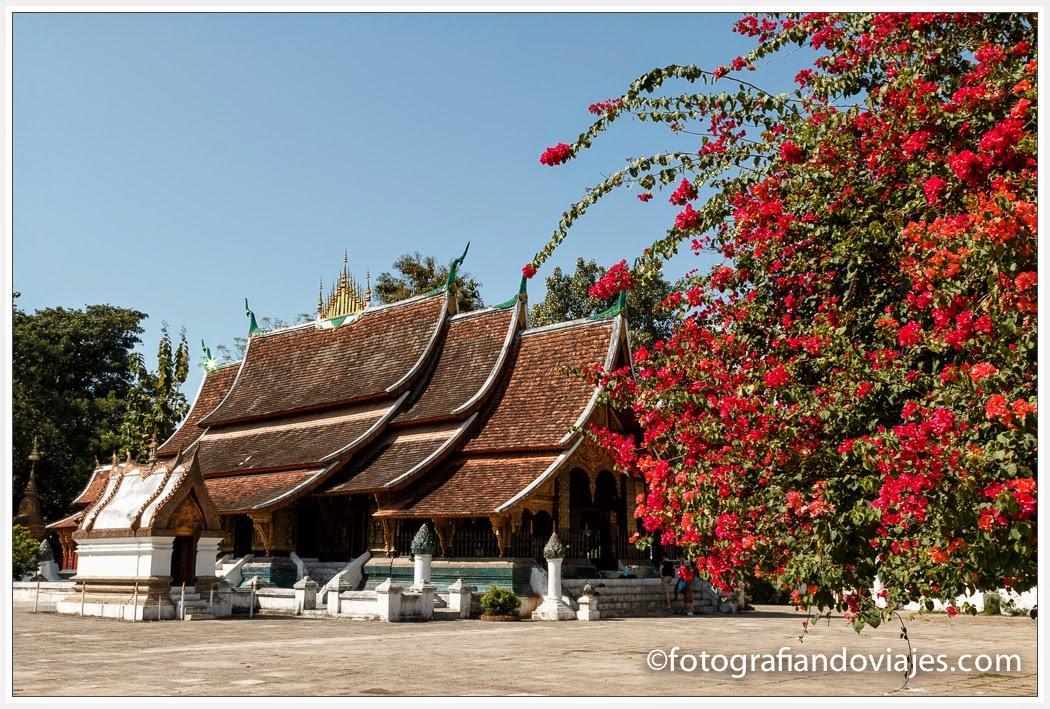 Wat Xieng Thong en Luang Prabang Laos