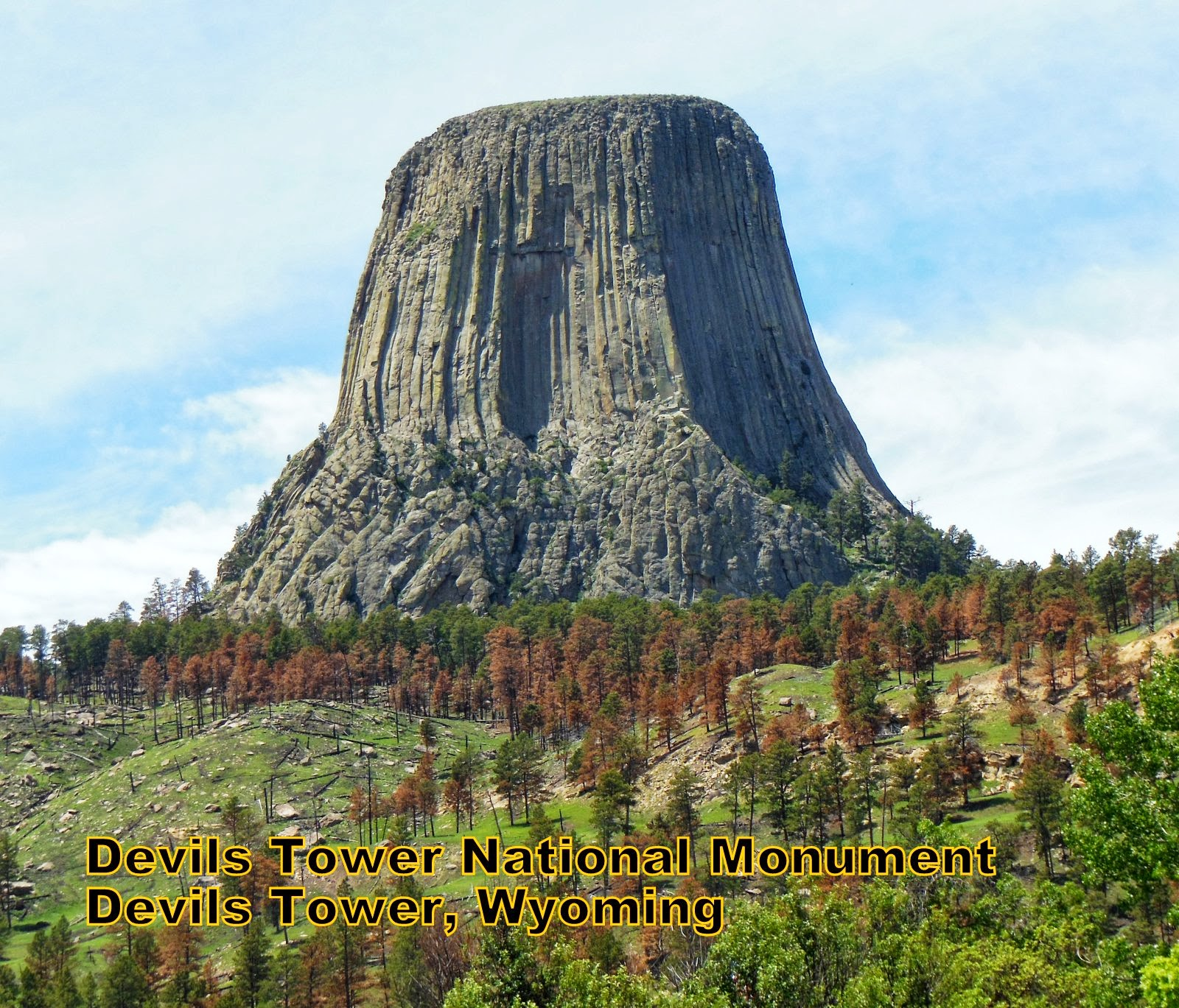 Rocky Top Ramblers: Devils Tower Monument Wyoming