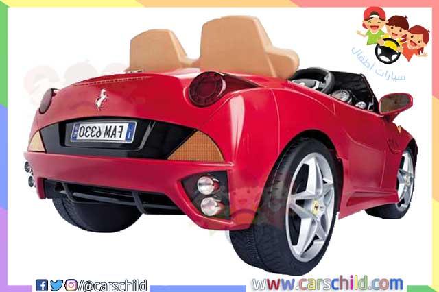 سيارات اطفال كهربائية من نوع فيراري قابلة للشحن