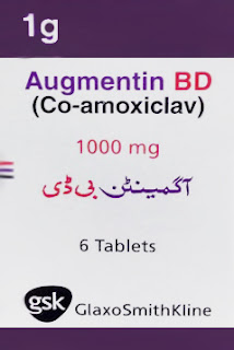 Augmentin 1000mg tablet for URTI