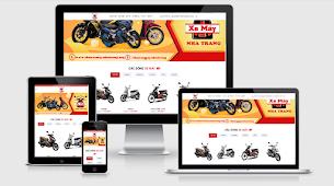 Motorbike Rental Blogger Store Theme - Responsive Blogger Template
