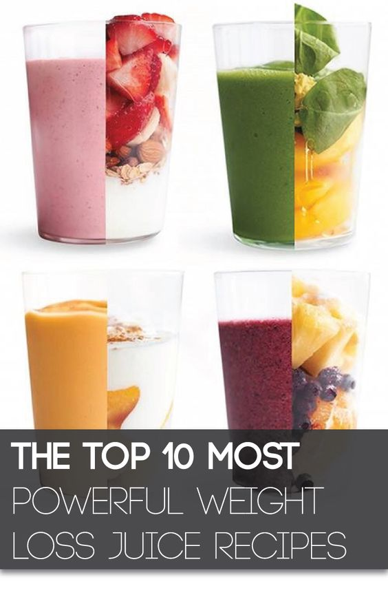 The Top 10 Most Powerful Weight Loss Juice Recipes