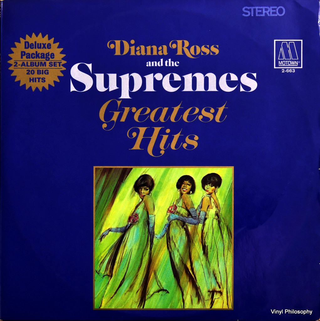 DIANA ROSS & THE SUPREMES Greatest Hits Vol.3 LP Motown MS ...  |Motowns Greatest Hits Diana Ross