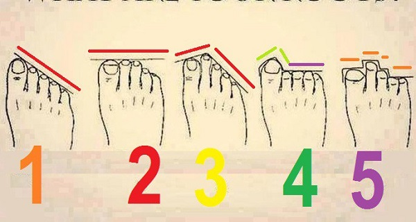 Here's What the Shape of Your Toes Say About Your Personality and Future! FIND OUT HERE!