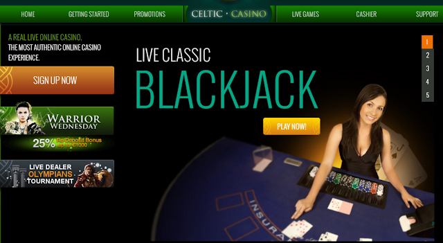 Celtic Casino | Live Dealers | Blackjack