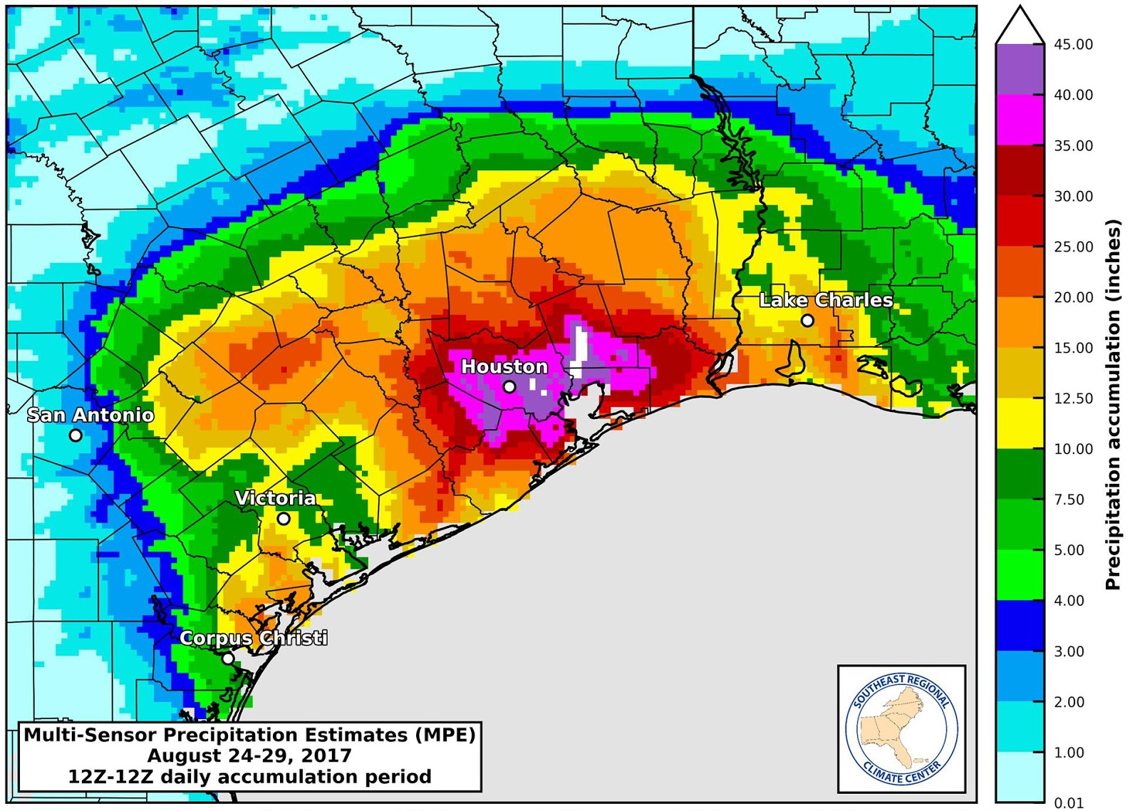 Rain Totals Map Tropical Atlantic Update: Maps of rainfall totals in Texas look  Rain Totals Map