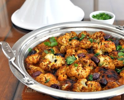 Spiced Chicken with Roasted Cauliflower