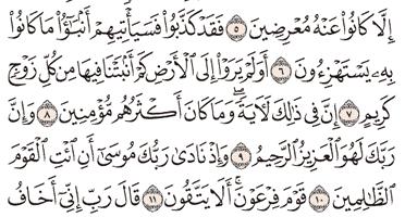 Tafsir Surat As-Syu'ara Ayat 6, 7, 8, 9, 10