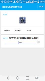 Cara Merubah Tampilan Icon dan Nama Aplikasi Android Tanpa Root
