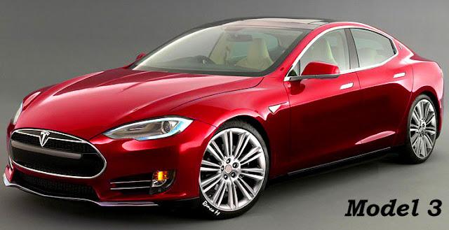 Kereta Elektrik (EV) - Tesla Model 3