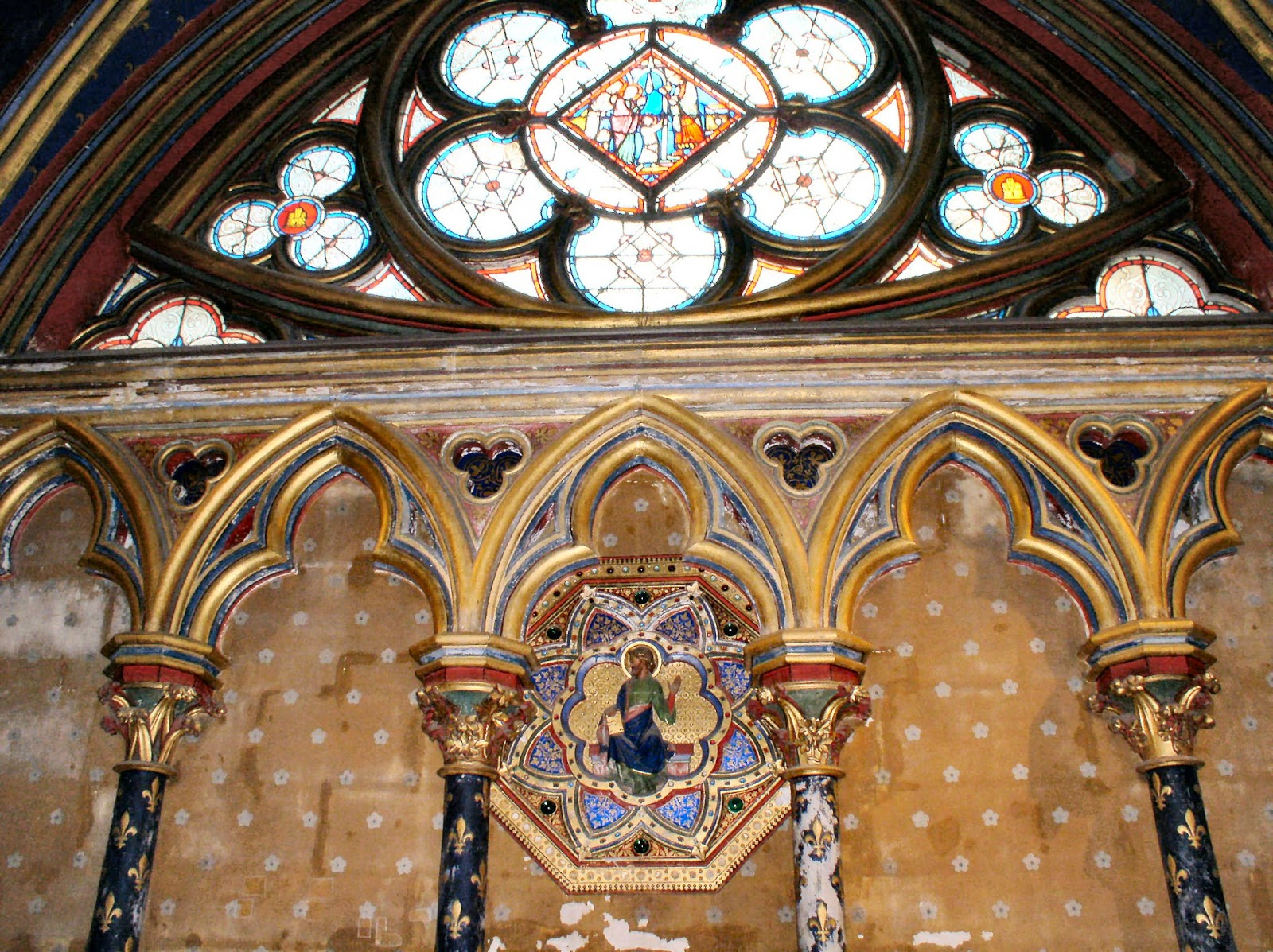 From Paris With Love Sainte Chapelle The Jewel Box Church