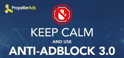 dan memang sudah Google rencanakan dari beberapa bulan yang lalu bahwa pada tanggal terse PropellerAds Siapkan Anti AdBlock Untuk Lepaskan Blokiran Iklan Chrome Browser
