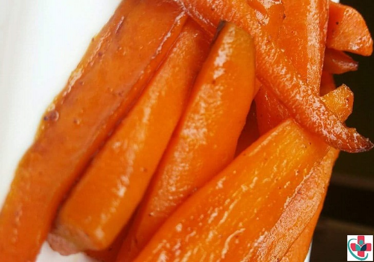 Sweet cinnamon carrot sticks recipe