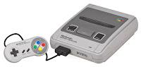 Imagen con la Super Nintendo SNES (16 Bits)