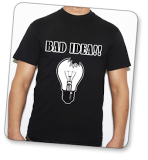 camiseta bad idea en tuestilo.net