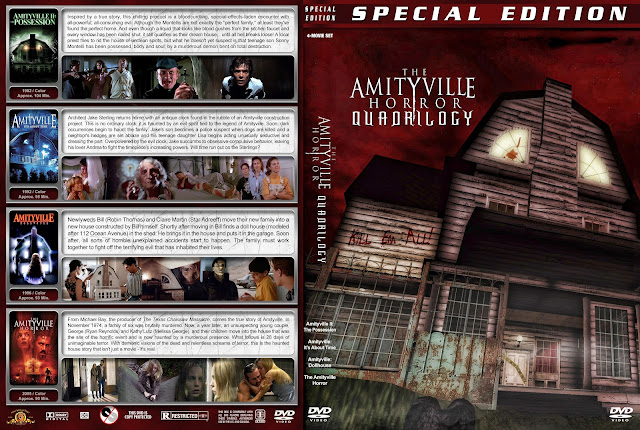 The Amityville Horror Quadrilogy DVD Cover