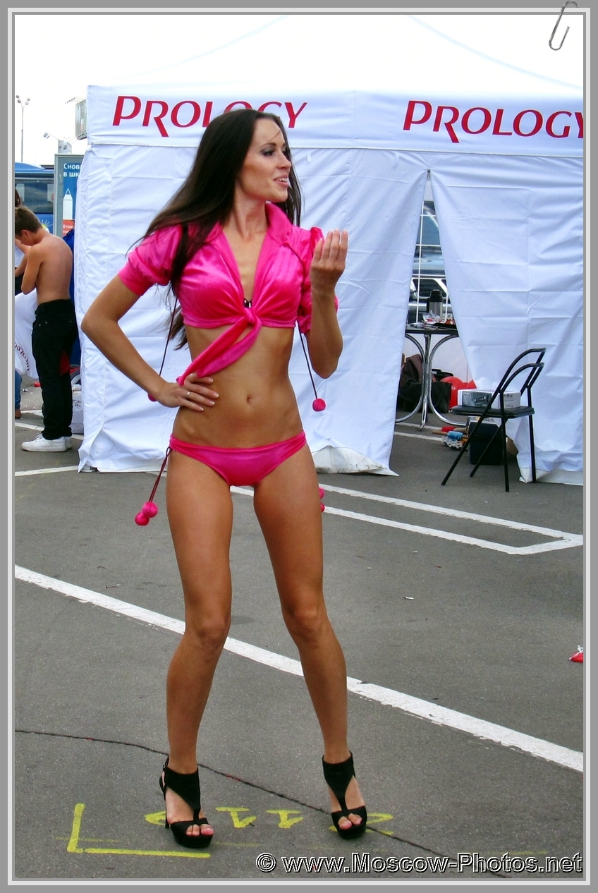 Sexy Moscow Dancing Girl