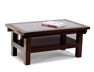 Diseño de mesa con estilo asiático