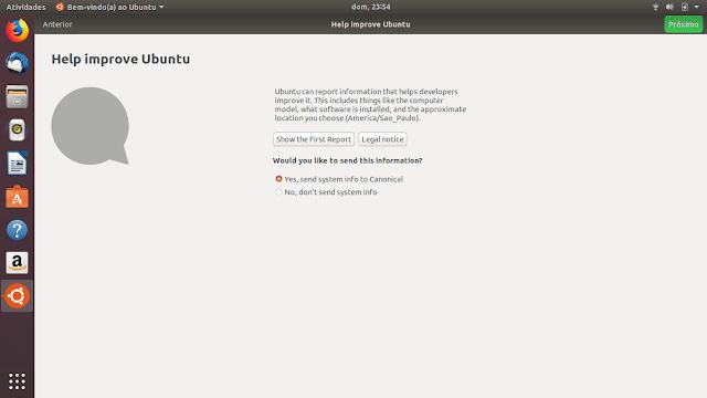 Ajude a melhorar o Ubuntu