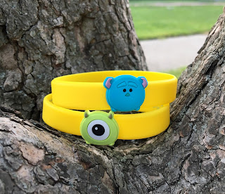 Monsters Inc Disney Store 2016 Summer Play Days Wristbands