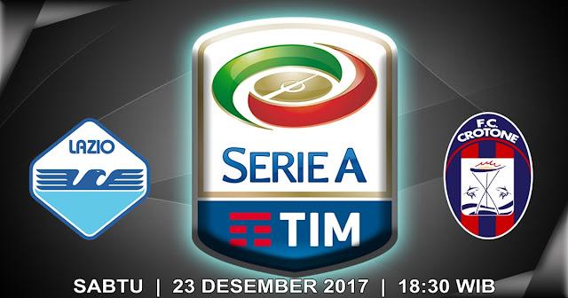 BOLA 365 - Prediksi Lazio vs Crotone 23 Desember 2017
