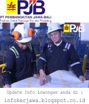 Lowongan Kerja PT PJB (Pembangkit Jawa - Bali)