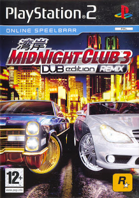 Midnight Club 3 DUB Edition Remix PS2 GAME ISO