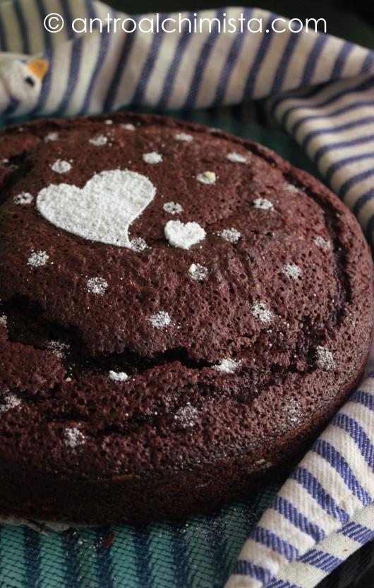 Torta Delizia al Cioccolato Fondente
