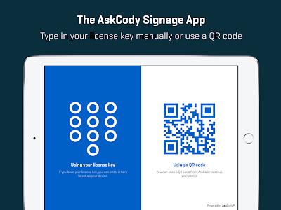 AskCody Signage app