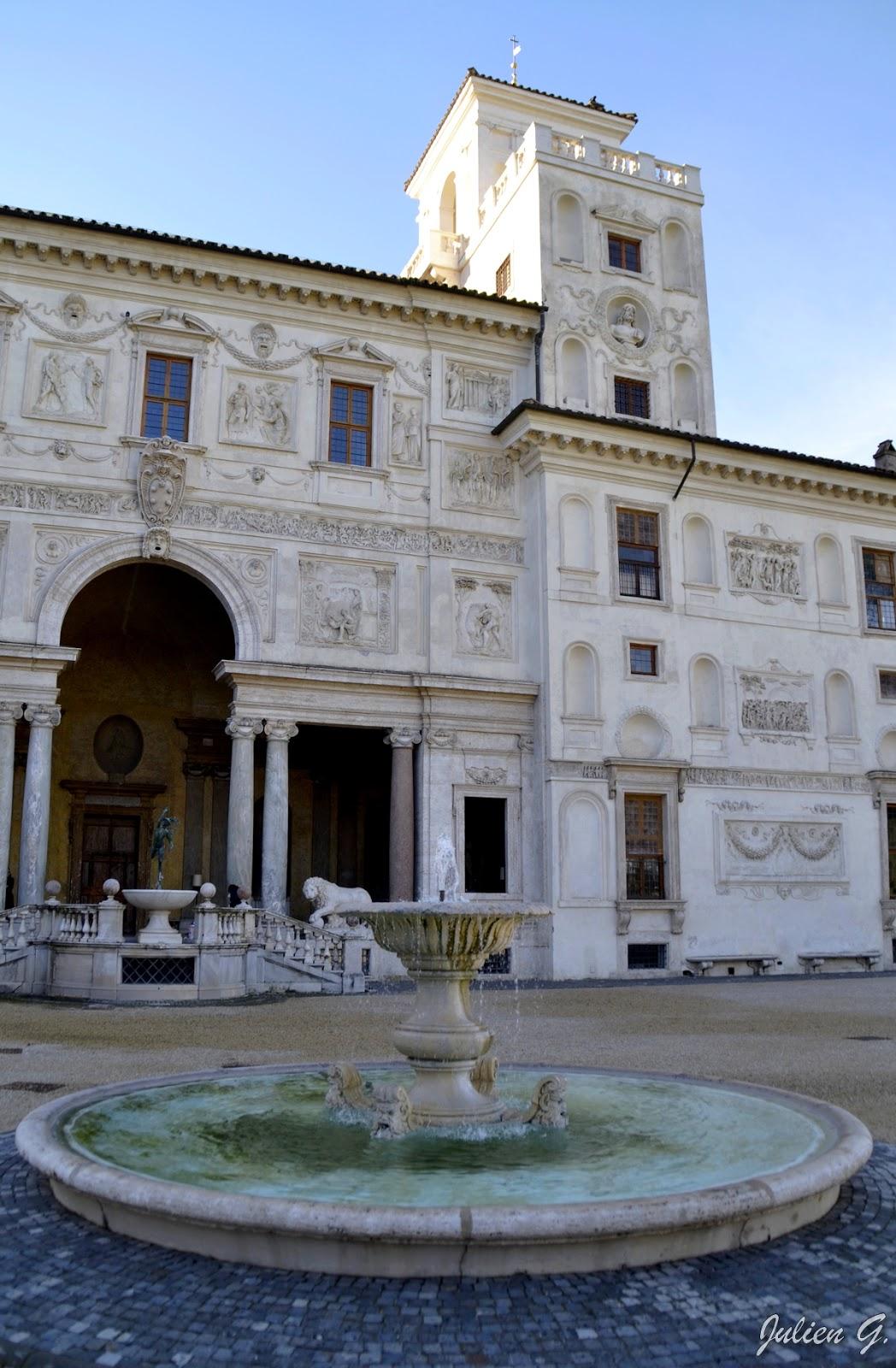 Coins du monde italie rome ext rieurs et jardins de for Jardin villa medicis rome