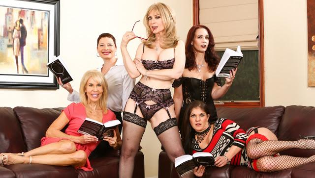 Nina Hartley, Kali Karinena, Erica Lauren, Coralyn Jewel, Sable Renae - Seduction of Nina Hartley - Scene 2
