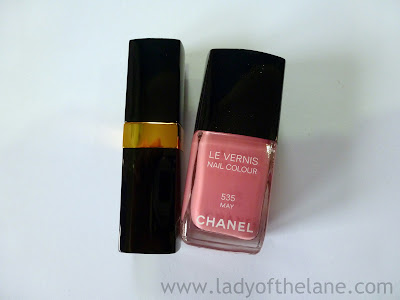 Chanel May Le Vernis & Paradis Rouge Coco