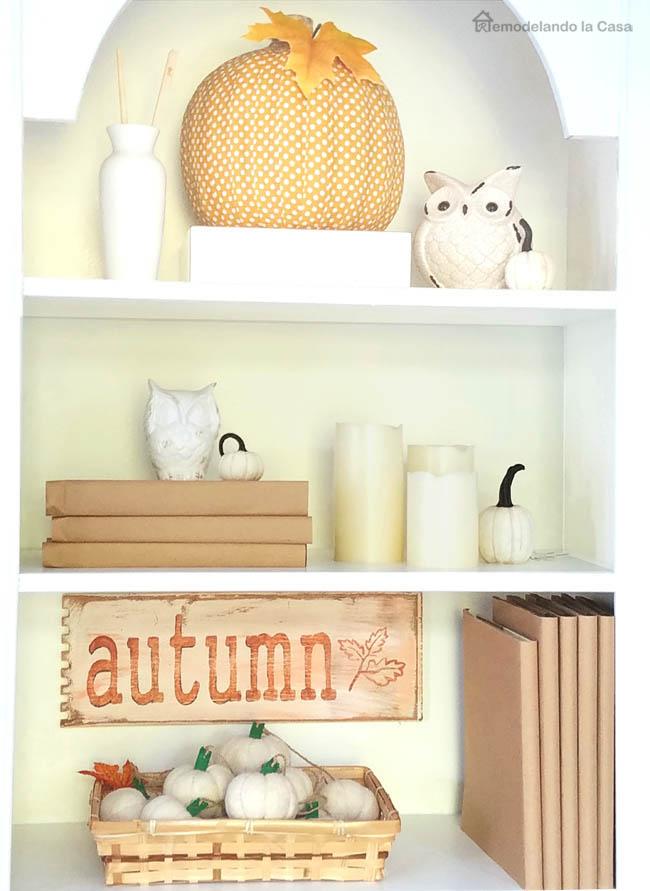 peak a boo pumpkins and books