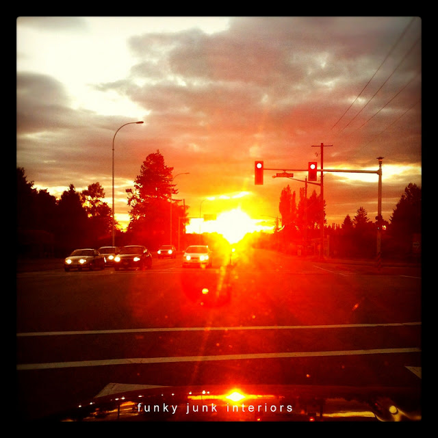 sunset photo via Funky Junk Interiors
