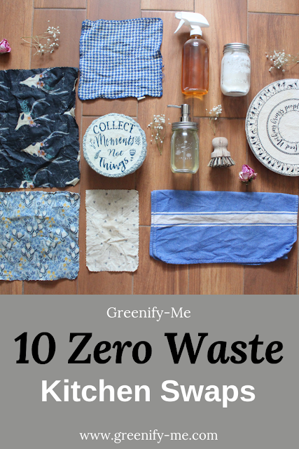zero waste kitchen swaps