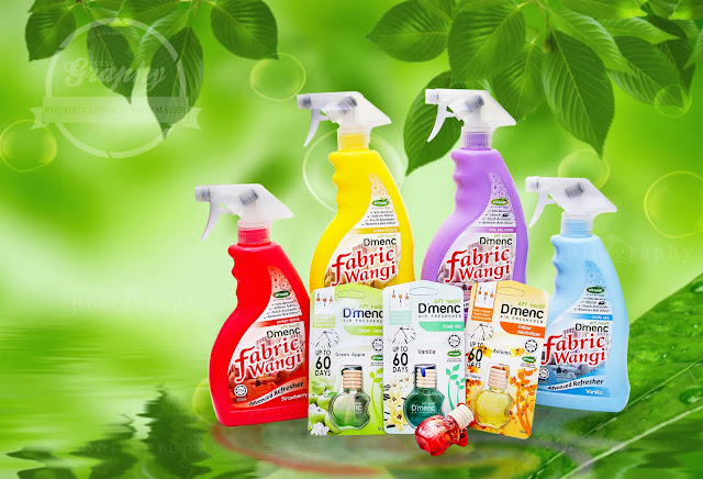 D'MENC Fabrik Harun dan D'MENC Air Freshener Afy Haniff