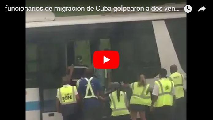 Funcionarios de migración de Cuba golpearon a dos venezolanas