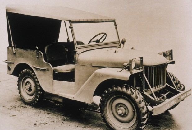 Jeep Willys Quad (1940) Klasik Model Pertama