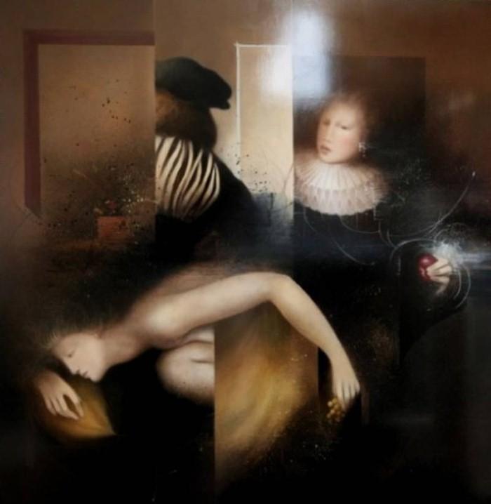 Современные художники Бельгии. Jean-Claude Dresse 3