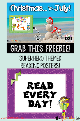 These superhero reading posters will be perfect in any classroom! 6 different posters with reading quotes will inspire students to read every day!