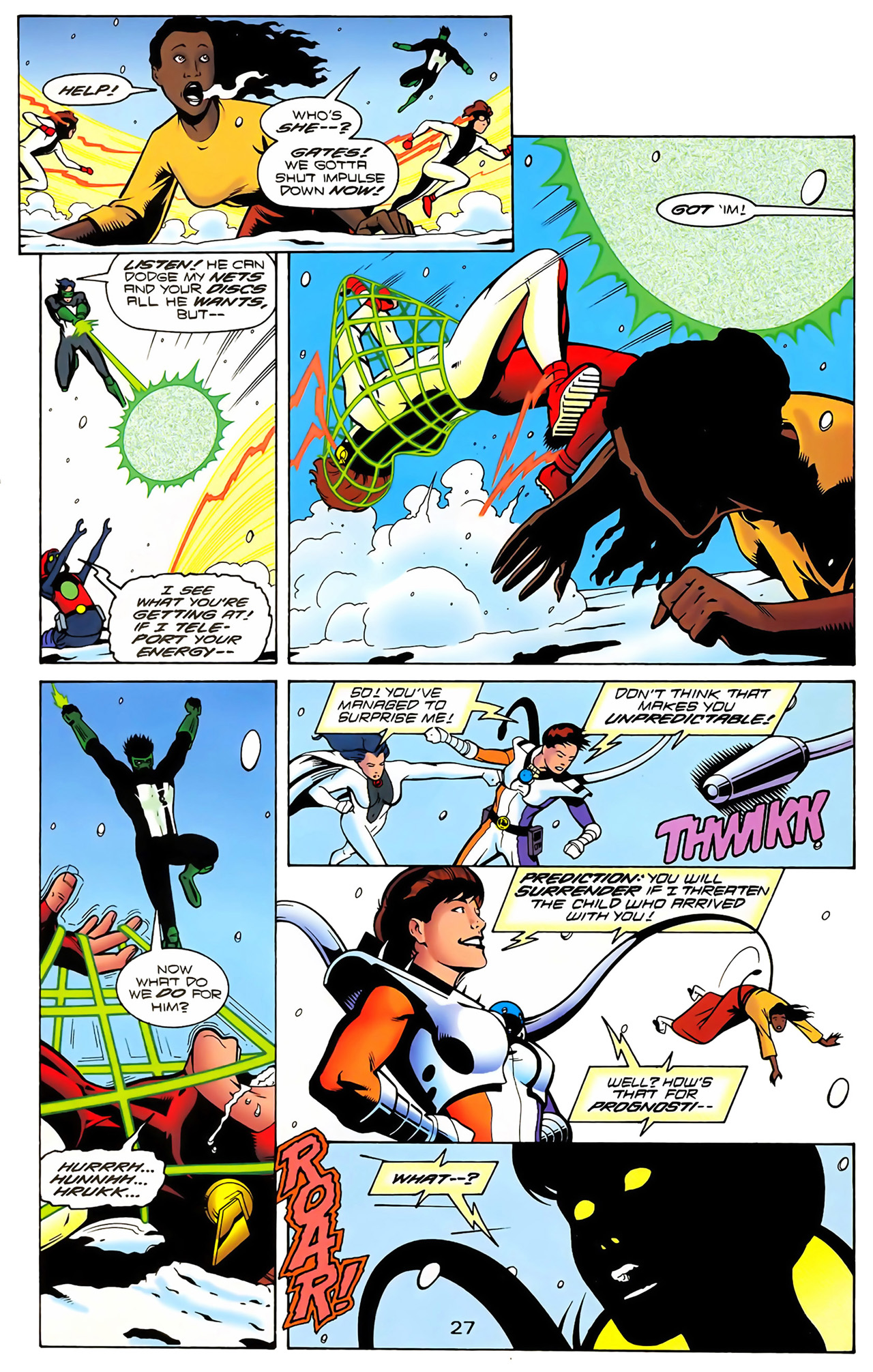 Legion of Super-Heroes (1989) 100 Page 25