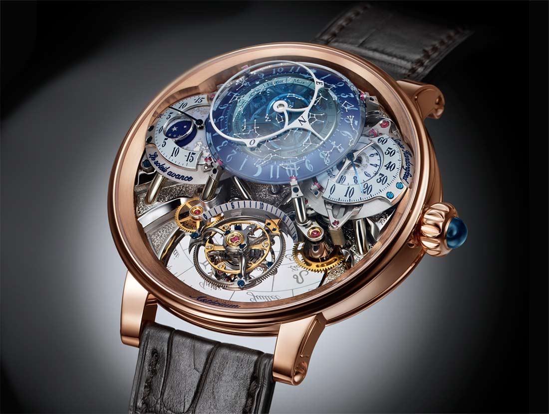 of amadeo watch online world s women authentic buy gold luxury fleurier bovet rose watches black womens