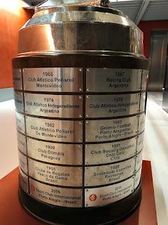 Troféu da Copa Libertadores da América - Museu do Inter