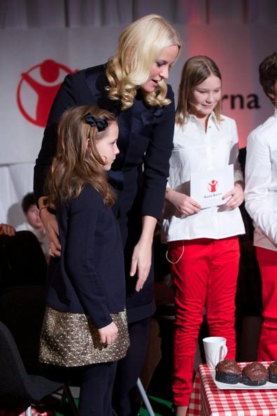 Crown Princess Mette-Marit and Princess Ingrid Alexandra