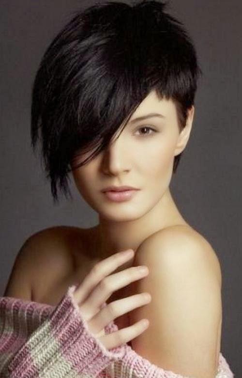 gambar model rambut pendek terbaru 2