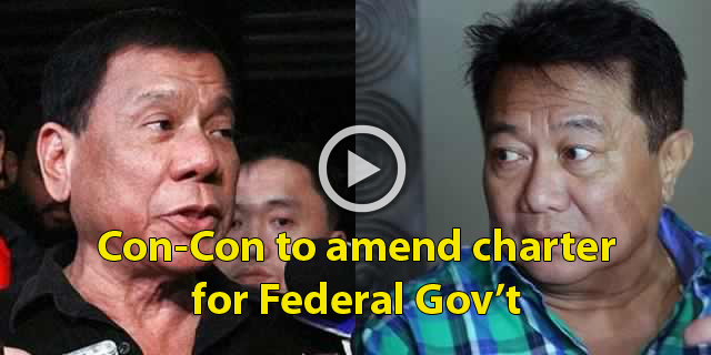 Juan Breaking News! Duterte Wants Con-Con To Formulate New Charter For Federal Government. Must Read!