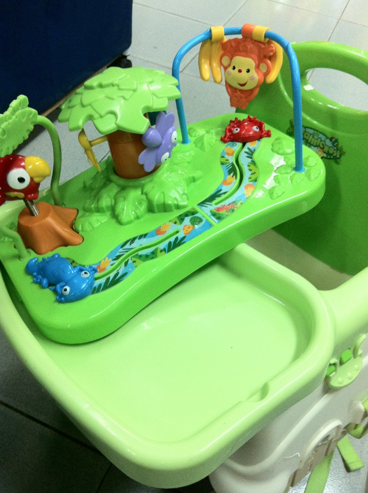 Fisher Price Rainforest Healthy Care High Chair 2 Lawn Chairs Lowes Preloved Toysworld Thetottoys