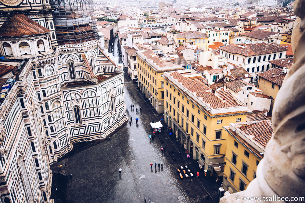 Florence, Italy - Views Over Giotto's Campanile Florence
