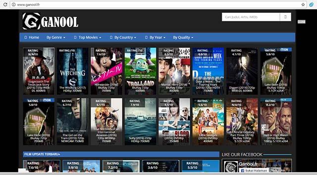 Ganool - Situs Terlarang Situs Yang Diblokir Internet Positif